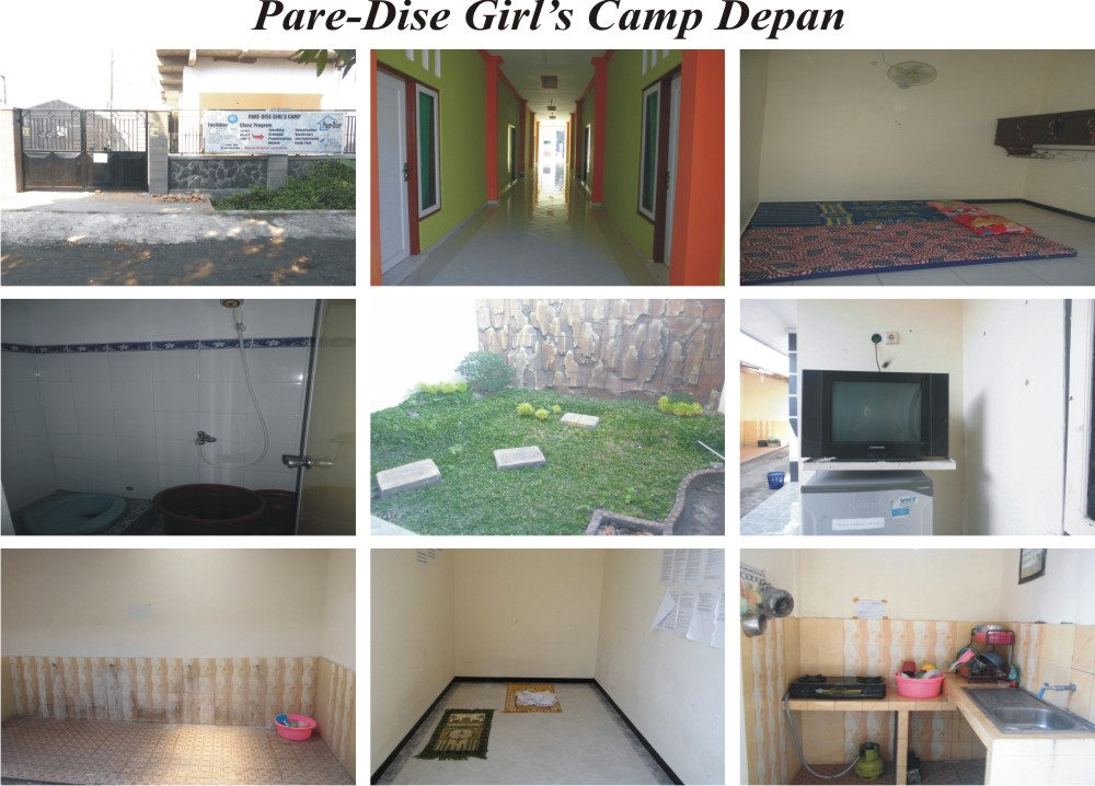 Pare-Dise Girl's Camp Tipe Ekslusif